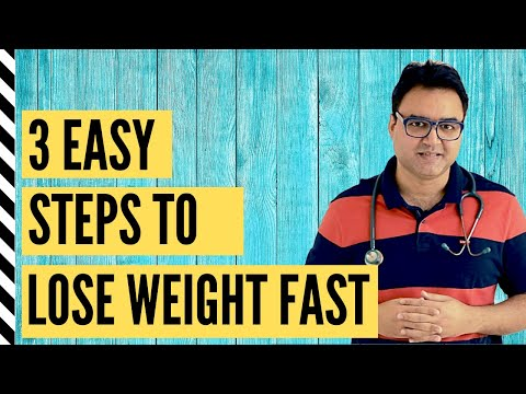 How To LOSE WEIGHT FAST (in 2 Weeks) | Motapa Kam Karne Ka Tarika (2 हफ्ते में 8 kg गारंटी से घटाएं)