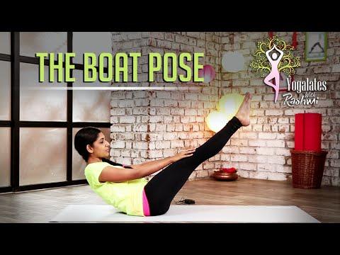 Naukasana – The Boat Pose | Yogalates With Rashmi Ramesh | Mind Body Soul