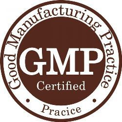WE ARE GMP CERTIFIED