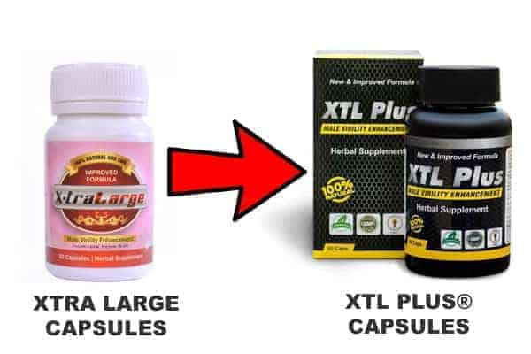 XTRA LARGE PENIS ENLARGEMENT CAPSULE IS NOW KNOWN AS XTL PLUS CAPSULES