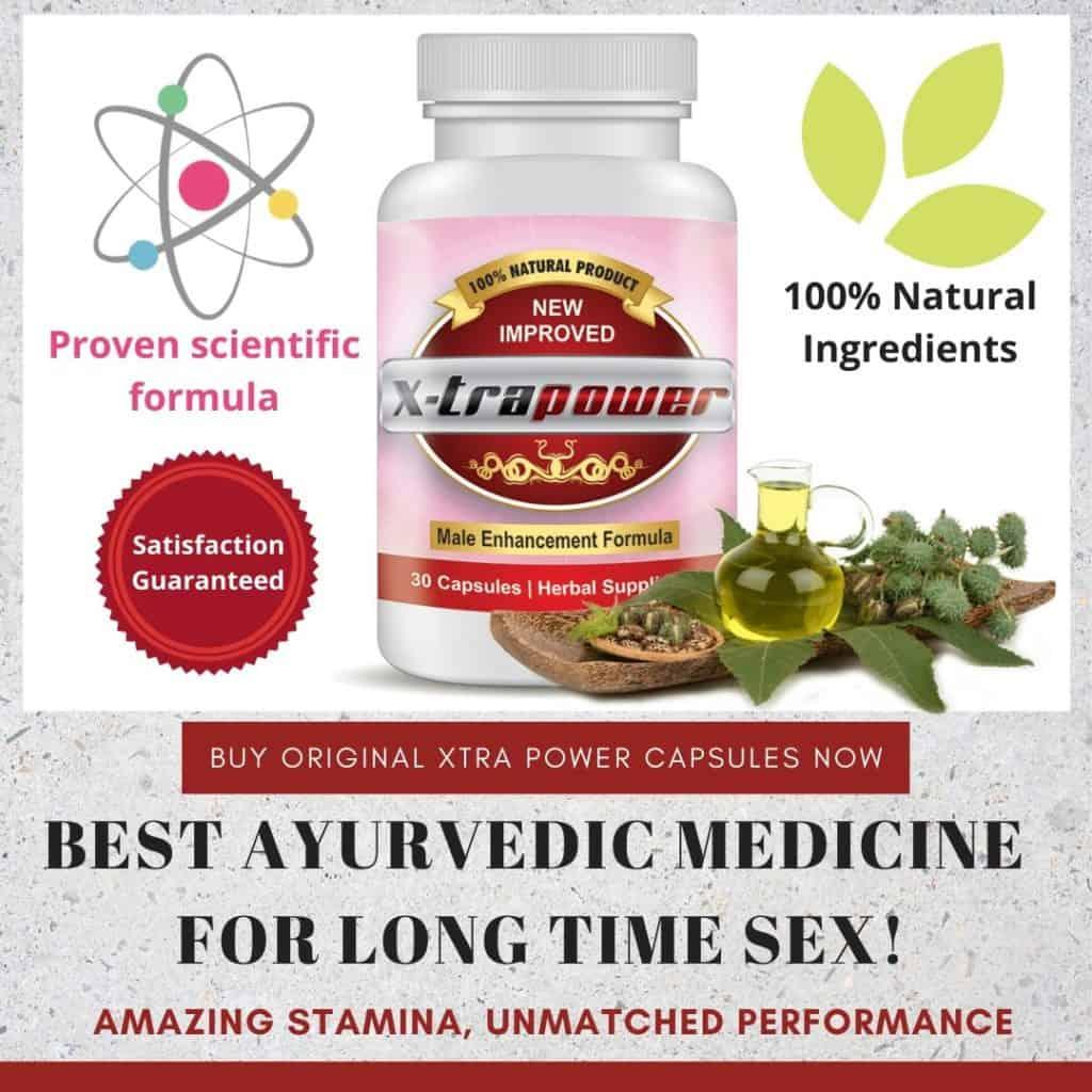 ayurvedic medicine for long lasting in bed